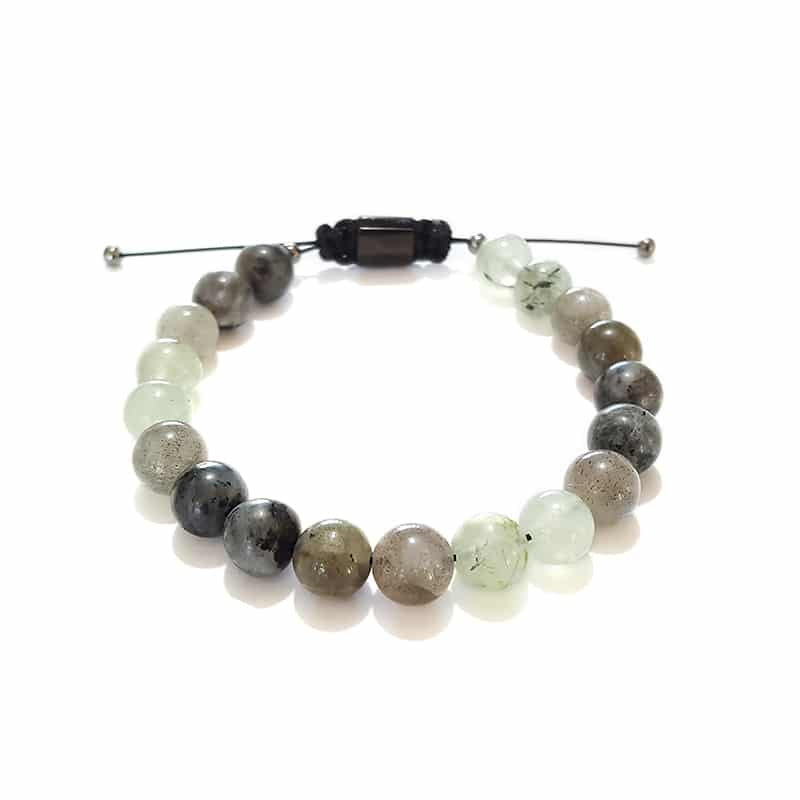 Bracelets for Men and Women - Forest Haze (8 mm) - Marija Lennore © 2017