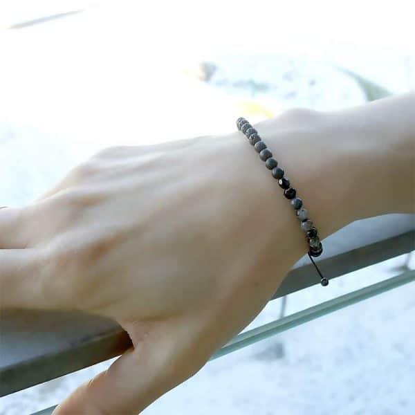 Armbånd til kvinder - Rough Charm (4 mm) - Marija Lennore © 2017