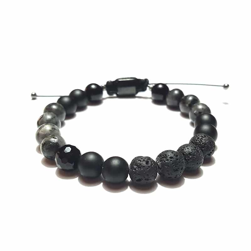 Bracelets for Men and Women - Rough Charm (8 mm) - Marija Lennore © 2017